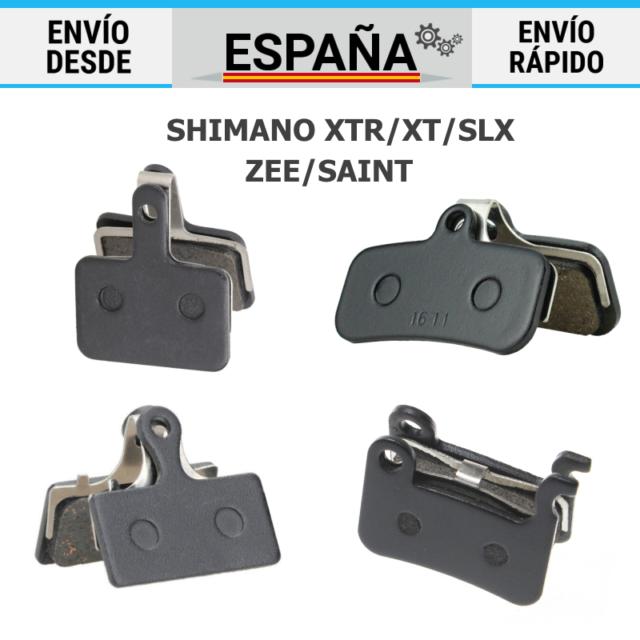 Pastillas de Freno Shimano G02S XTR XT SLX DEORE ALFINE Resina
