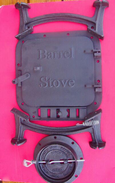 Barrel stove kit build your own wood stove w/Gasket Kit
