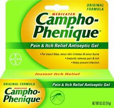 4 Pack - Campho-Phenique Pain Relieving Gel 0.50oz Each