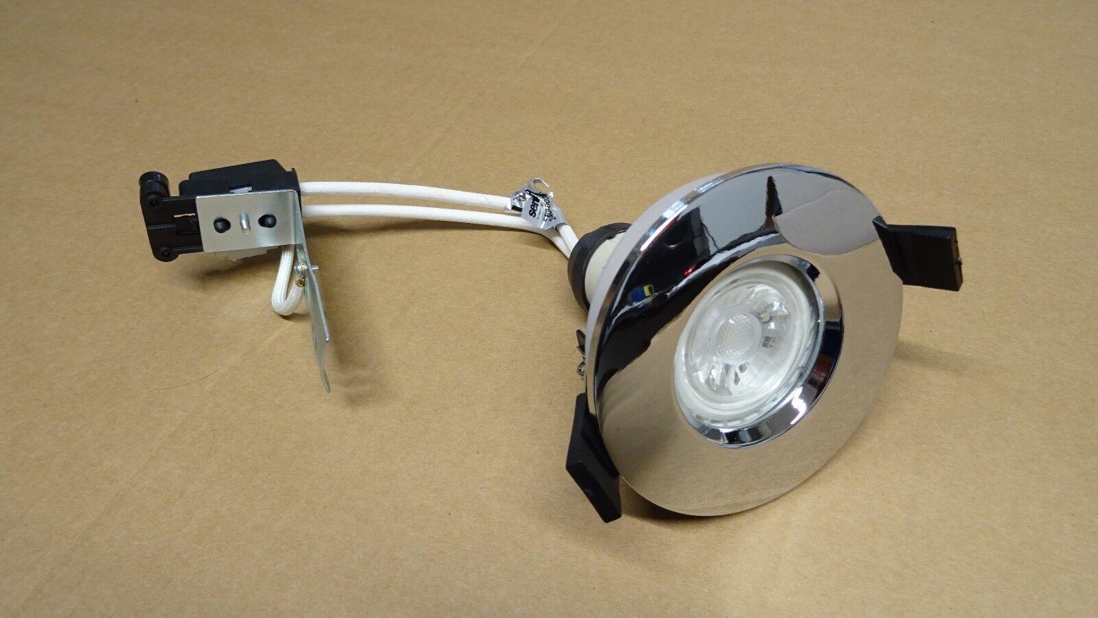 SENSIO doccia bagno soffitto proiettorino DA INCASSO FARETTO 240 V V V GU10 IP65 + lampadina LED 8c9c74