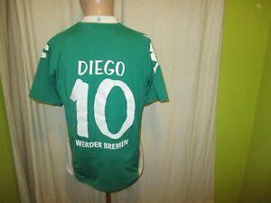 Werder-Bremen-Kappa-Heim-Trikot-2008-09-034-Citibank-034-Nr-10-Diego-Gr-M-TOP