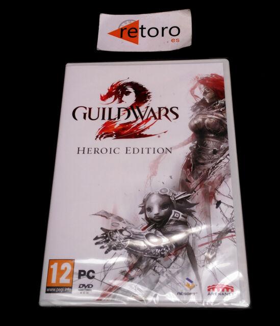 GUILDWARS 2 HEROIC EDITION PC DVD Pal-España NUEVO Precintado español