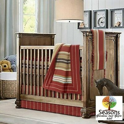 Montana Western Se Bedding Decor, Western Baby Bedding Crib Sets