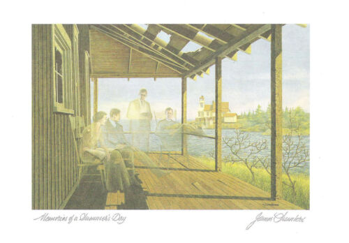 Memories of a Summer/'s Day Six Art Cards By James Lumbers gift O WITH ENVELOPE