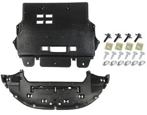 Blic Set Plaque Couvercle cache protection sous moteur Citroen C4 2010-