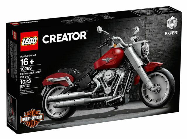 Lego Creator Expert Harley Davidson Fat Boy 10269 For Sale Online Ebay