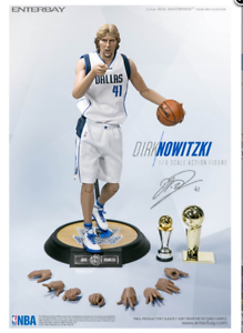 Enterbay Dirk Nowitzki 1 6th scale Real Masterpiece