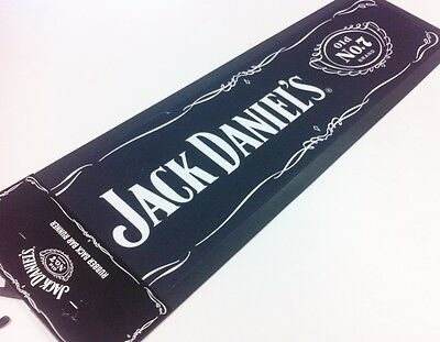 Licensed JACK DANIELS MAT RUBBER BACK BAR RUNNER PUB FATHERS DAY GIFT No.7