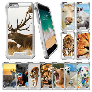 For-Apple-iPhone-6-iPhone-6s-4-7-034-Slim-Snap-On-Case-Animals-Designs