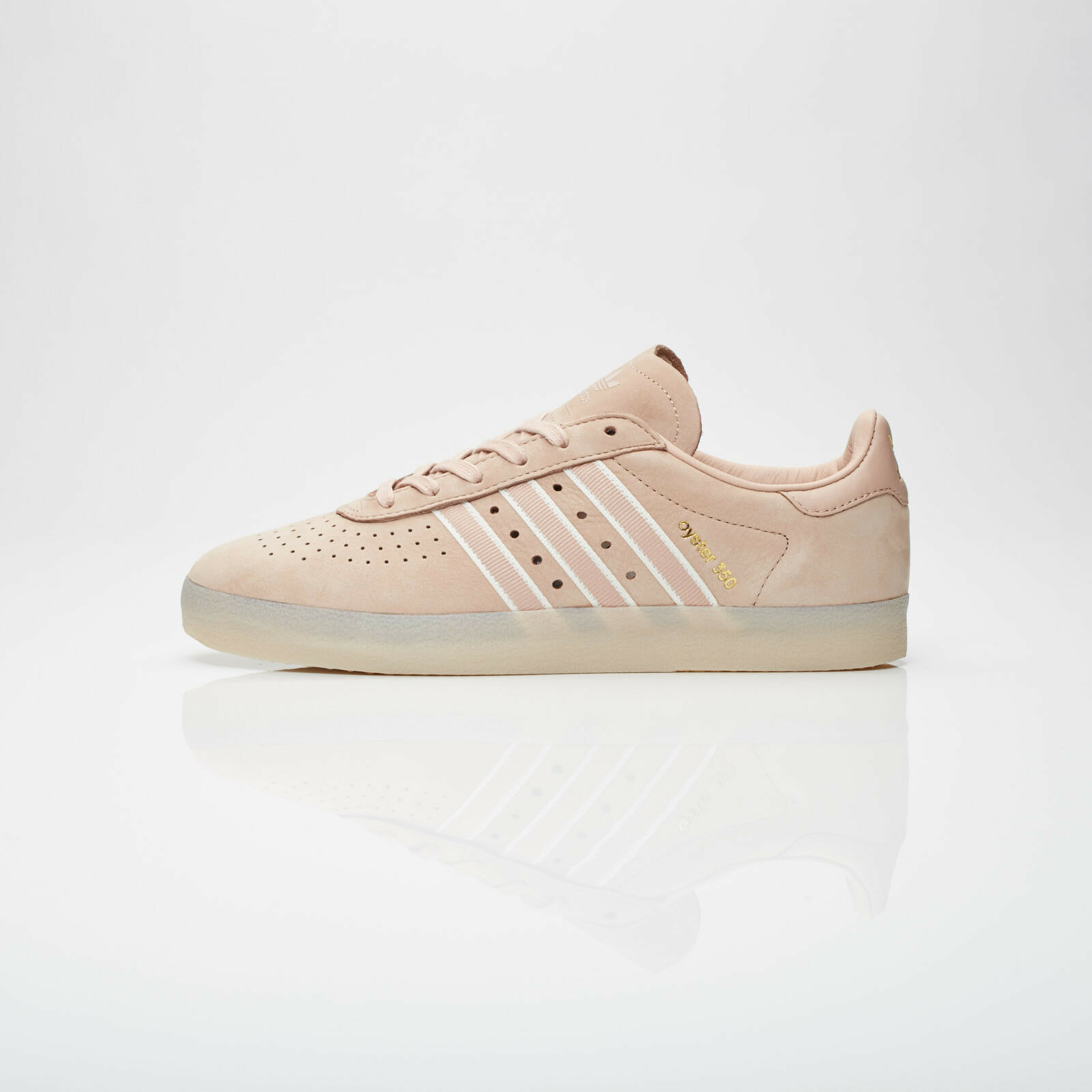9.5 NEW adidas Originals X OYSTER HOLDINGS 350 DB1976 Ash Pearl Chalk White gold