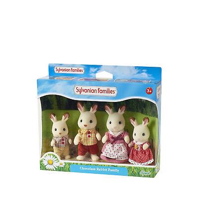 NEW Sylvanian Families Chocolate Rabbit Family