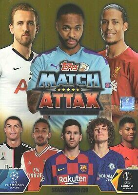 Topps Match Attax 2019//2020-15 Booster-saison 19//20