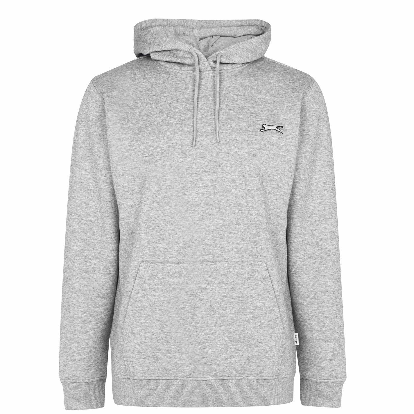 Slazenger OTH Hoodie 2.0 Mens Gents Hoody Hooded Top Full Length Sleeve Zip