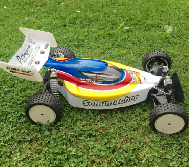 SCHUMACHER PRO CAT BODY AND  WING
