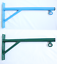 Outdoor//Indoor Rustproof Steel Made Boxing Bag Bracket in Green or Blue
