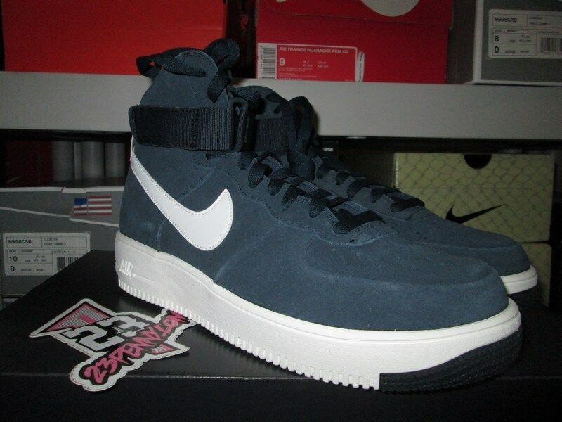 SALE NIKE AIR FORCE 1 NAVY ULTRAFORCE LEATHER MANS ARMORY NAVY 1 AF1 880854 401 NEW eb60bd