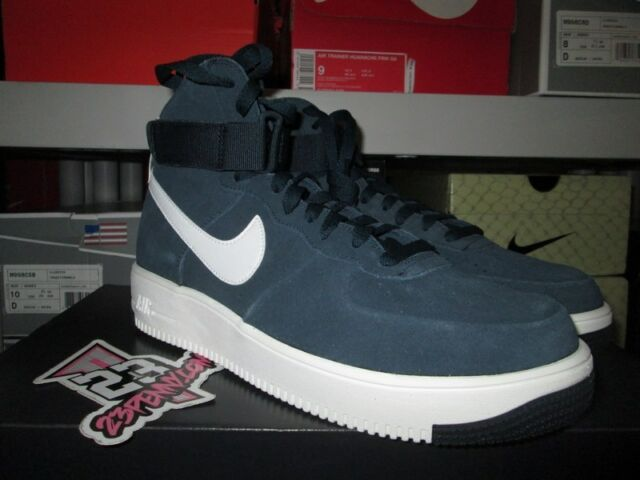 SALE NIKE AIR FORCE 1 ULTRAFORCE LEATHER MANS ARMORY NAVY AF1 880854 401 NEW