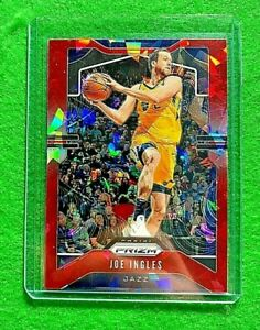 JOE-INGLES-PRIZM-RED-CRACKED-ICE-CARD-UTAH-JAZZ-2019-20-PANINI-PRIZM-BASKETBALL