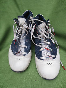1a2839e24351 NIKE LEBRON 7 PS USA OLYMPIC WHITE NAVY BLUE RED BLACK 407639-100 ...