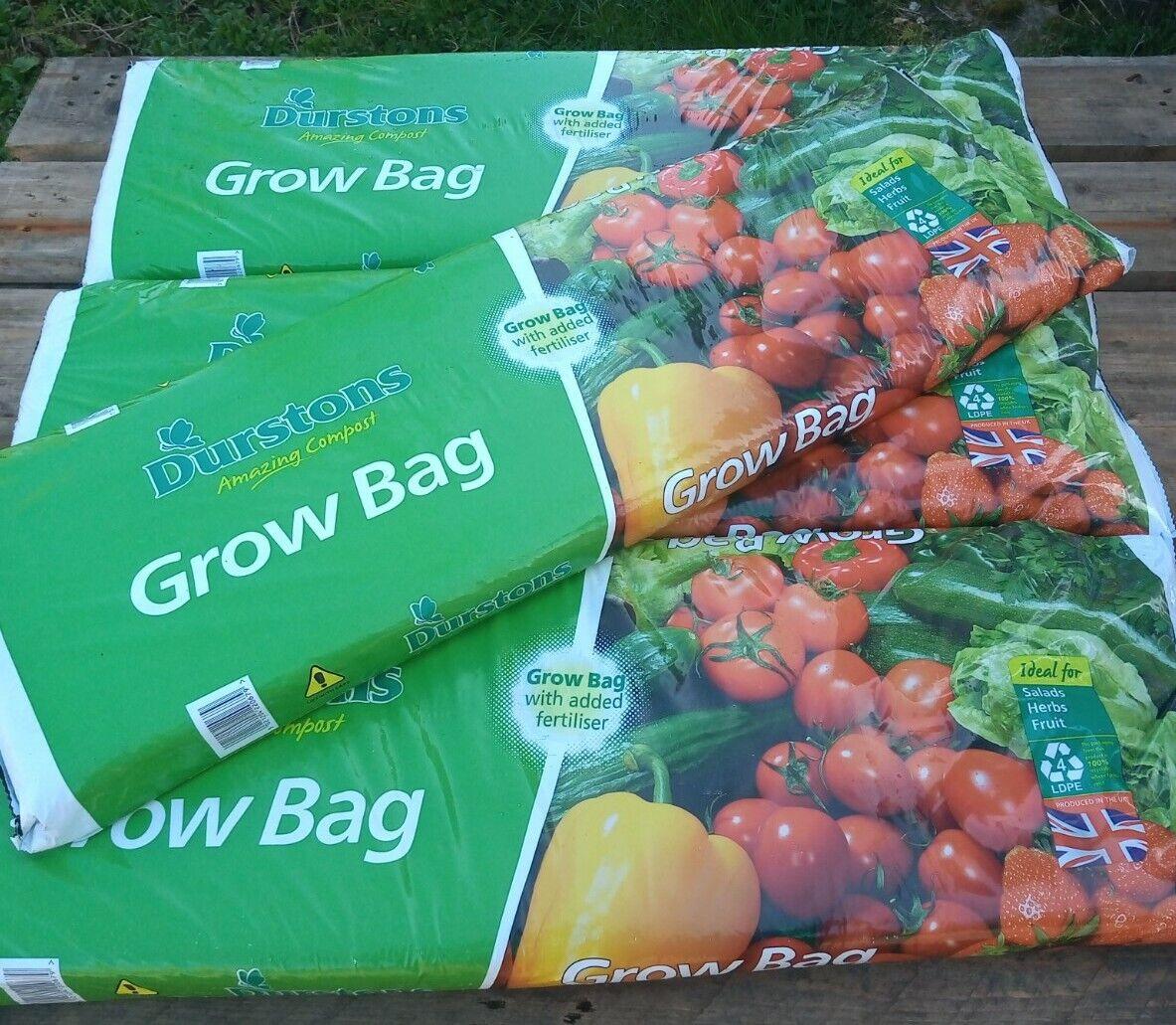 COLLECTION ONLY. 4x Grow bags. Tomato bag grobag compost, Nr Somerton Somerset.