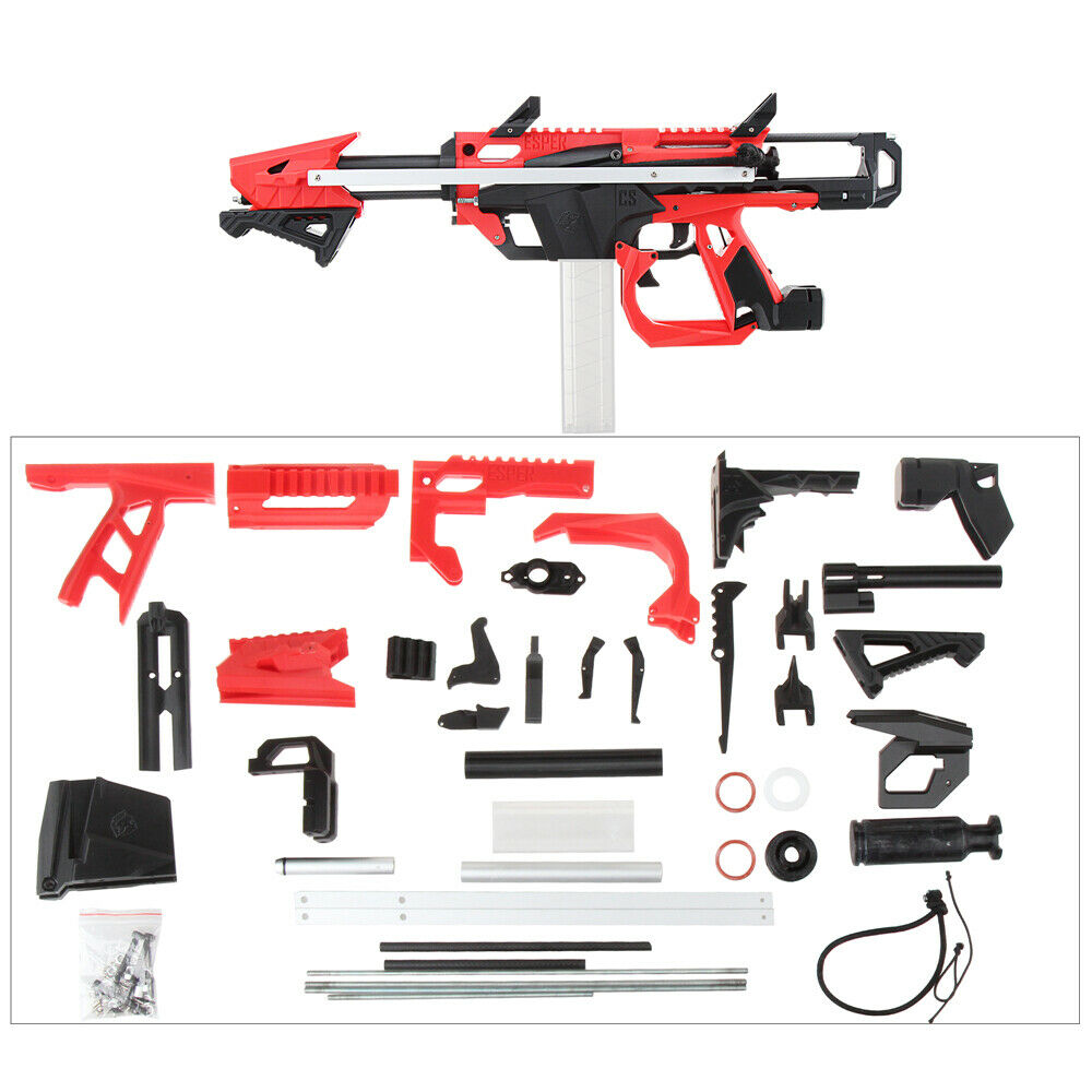 Trabajador Mod F10555 No.213 hágalo usted mismo Esper Stefan Blaster Modelo B 3D Impresión Rojo Negro