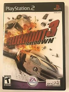 burnout game ps2