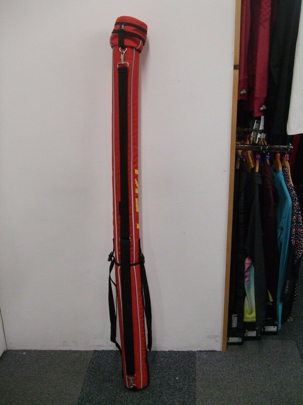 Leki Cross Cross Cross Country, Nordic, Langlauf ski pole carrying bag fab4cc