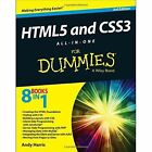 HTML5 and CSS3 All-in-One for Dummies by Andy Harris (Paperback, 2014)