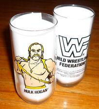 HULK HOGAN Rare MINT/New/Unused Glass Fresh From A Case! WWF WWE 1990 Vtg