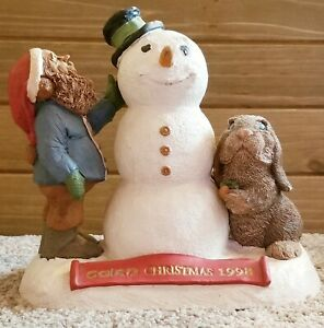 Retired Tom Clark Tim Wolfe Gnome Cairn Christmas 1998 #6347 Edition #54 vintage