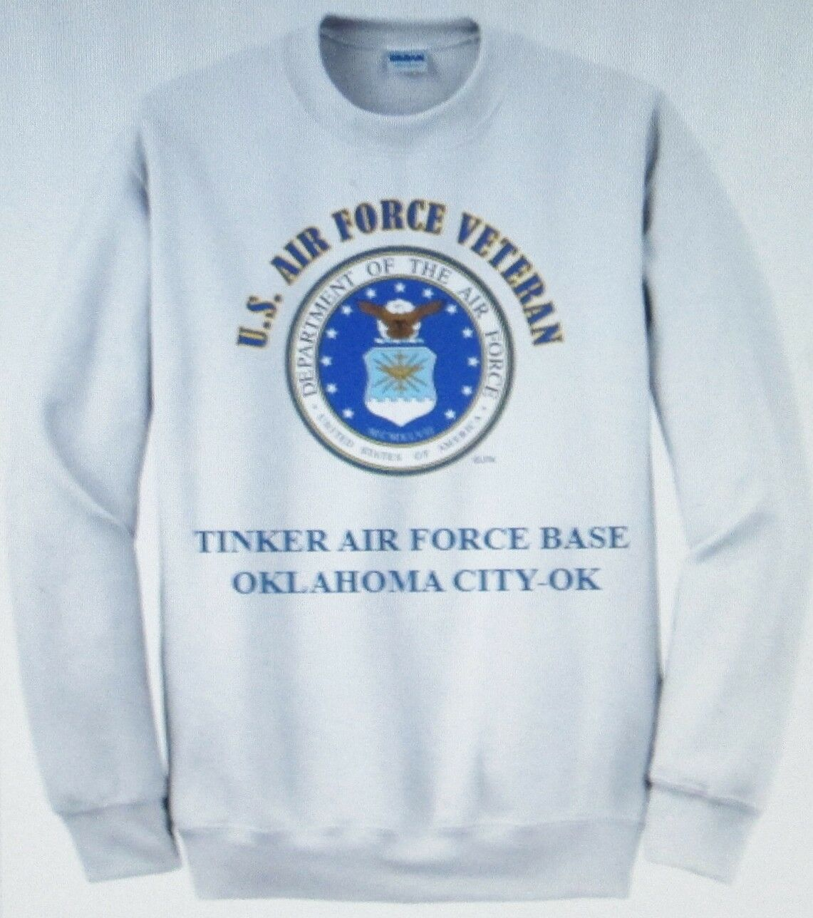 Tinker Air Force Base   Oklahoma City-Ok  Air Force emblema veterano Sudadera  hasta un 70% de descuento