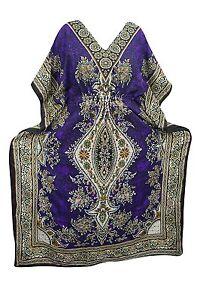 Free-Size-Women-Caftan-Top-Dress-Gown-New-Long-Kaftan-dress-Hippy-Boho-Maxi