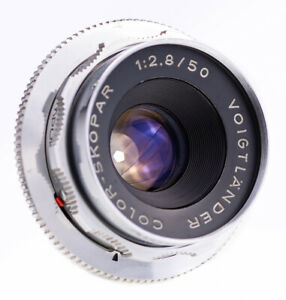 Voigtlaender-Color-Skopar-50-mm-f-2-8-mit-DKL-Mount-Top-Zustand