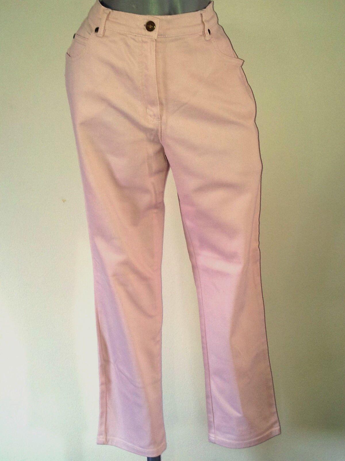 MaxiMe Jeans Hose Rosa Gr. 44 stretch 3 4 lang   .     .   .    .   D