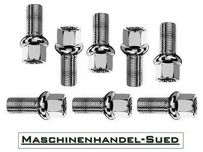 20 Radschrauben VW NEW BEETLE TDI V5 Cabriolet 4870 für Stahlfelgen