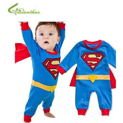 Superman Tuta Intera in Cotone Boys
