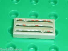 Lego OldGray tile 1x2 ref 3069bps1 / Set 7180 7144 10129 7140 7142 7161 7190 ...