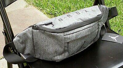 c447ab33d5f Nike Air Jordan Jumpman Cross-Body Fanny Pack Gray Shoulder Waist Bag  Adjustable