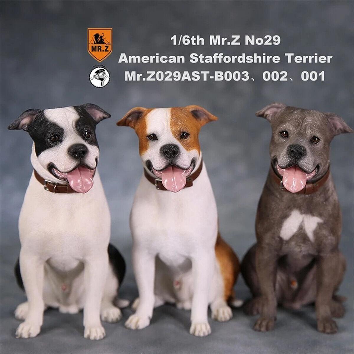 Mr Z 1 6 Staffordshire Terrier Dog Dog Dog Pet Figure Animal