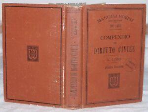 1908-LORIS-COMPENDIO-DI-DIRITTO-CIVILE-HOEPLI-LEGGI