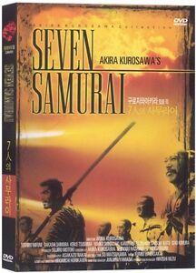 THE SEVEN SAMURAI (1954) DVD (Sealed) ~ Kurosawa Akira