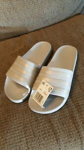 Para mujeres talla 11 Adidas Adilette Aqua diapositivas ...