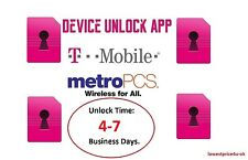 MetroPCS USA LG Leon Stylo G5 K7 K10 Unlock Mobile App Service Code Metro PCS