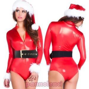 Costume-carnevale-intimo-BABBA-Babbo-NATALE-donna-travestimento-body-DL-2022