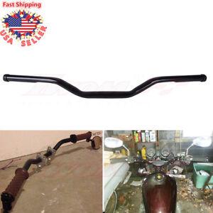 Black 1'' Drag Bars Motorcycle Custom Handlebar Fit Harley Sportster XL 883 1200