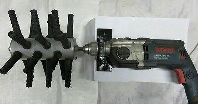 Rupfmaschine 24 Finger mit Halter (43mm), Geflügelrupfmaschine, Hühner,  Gänse