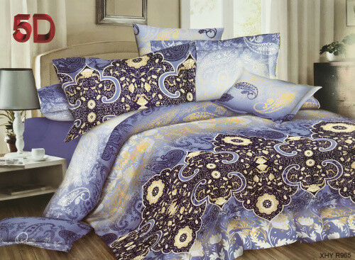 2-5 Tlg.bettwäsche Bettgarnitur Baumwolle 135x200 155x220 200x200 200x220 In Vielen Stilen Bettwäschegarnituren