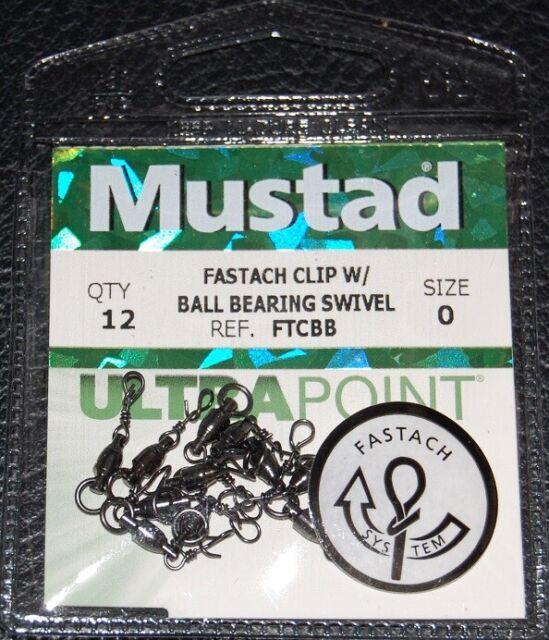 Choose Size 2//0 or 3//0 Mustad KVD Fastach X-Rig Ultra Lock Hook