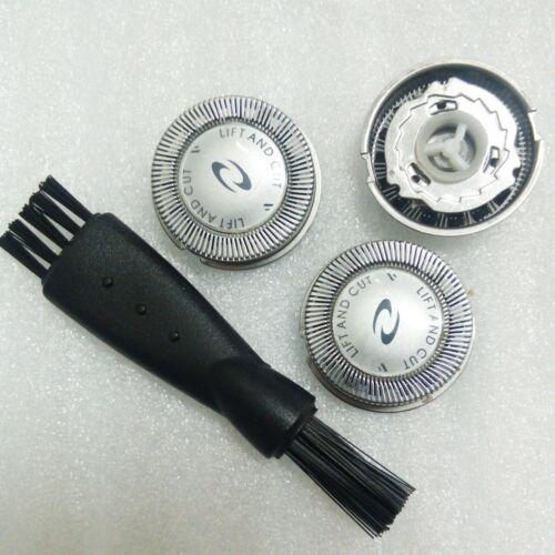 3 x Testa Rasoio per Philips Hq6825 Hs190 Hq686 Hq665 Hq6890 Hq6888 Hq56 Hq55