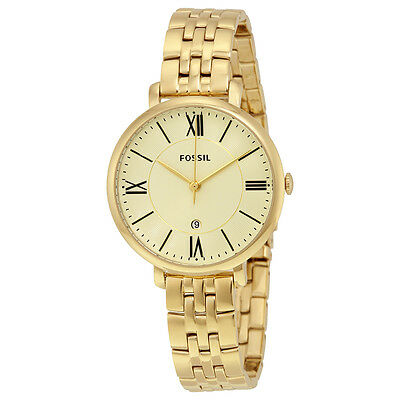 Fossil Jacqueline Gold-tone Ladies Watch ES3434